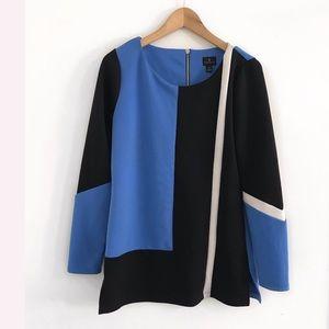 Worthington Top Blouse Shirt Size M